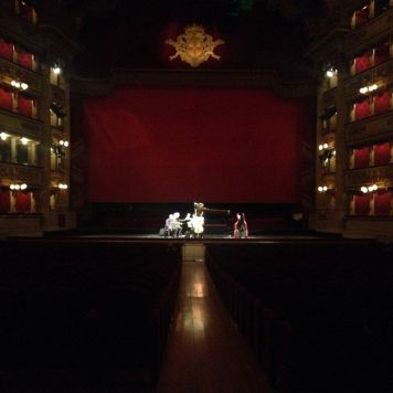 Teatro alla Scala prove Midnight plays